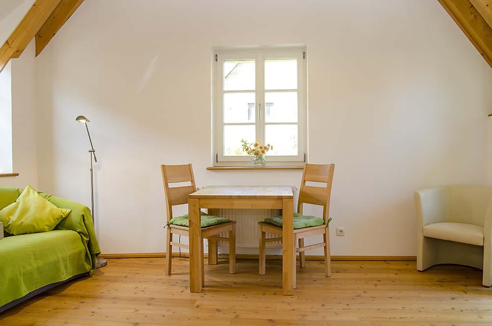 Wohn-/Essbereich (2) - Apartment Idig, Gästehaus Meerspinne