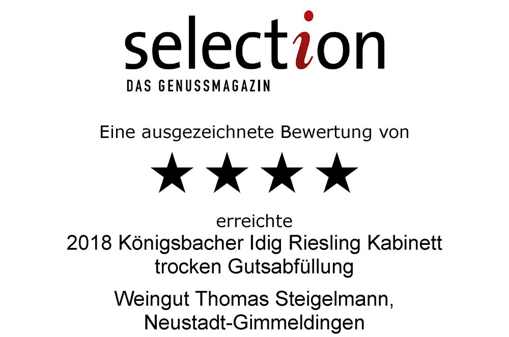 Riesling Kabinett, Königsbacher Idig