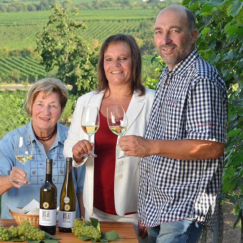 Thomas Steigelmann mit Frau Sabine & Mutter Irma Steigelmann